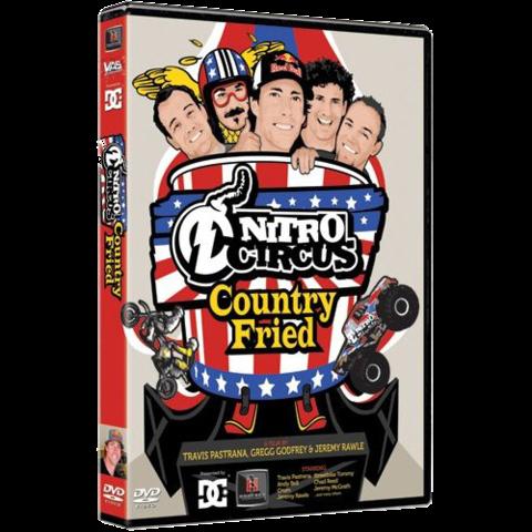 Nitro Circus - Country Fried - Travis Patrana DVD