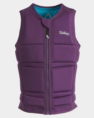 follow 2019 Wakesurfweste Surf Ladies Impact Vest Purple